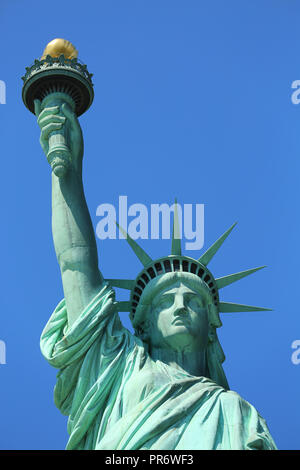 The Statue of Liberty at New York City - Stock Image