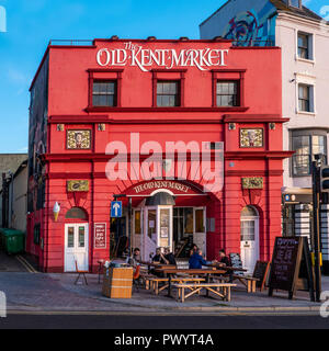 The Old Kent Market,Converted Cinema,Margate,Seafront,Thanet,Kent - Stock Image