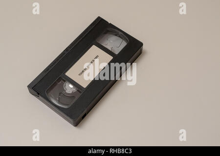 VHS tape of the 1992 Tour de France - Stock Image