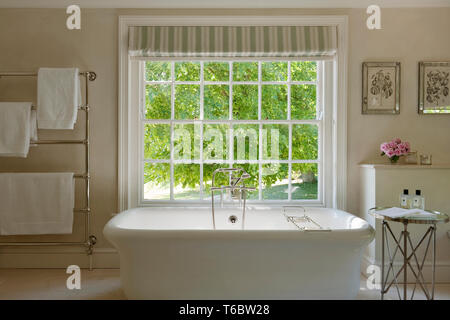Elegant bathtub - Stock Image