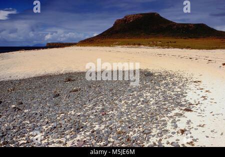 coast sea landscape isle of skye inner hebrides scotland uk eu europelandscape, scenic - Stock Image