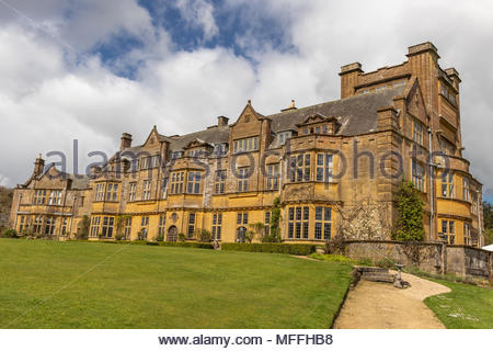 Minterne House and Gardens in Minterne Magna,Dorset. UK - Stock Image
