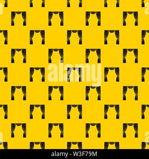 Curtain on stage pattern vector - Stock Image