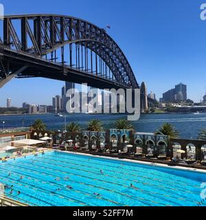 North Sydney Olympic pool - Stock Image