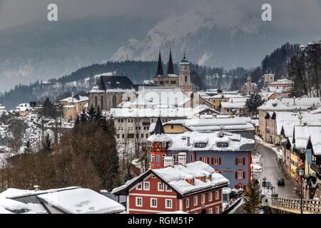 Berchtesgaden, Bavaria, Germany - Stock Image