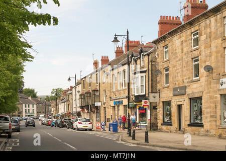 Front Street, Stanhope, Co. Durham, England, UK - Stock Image