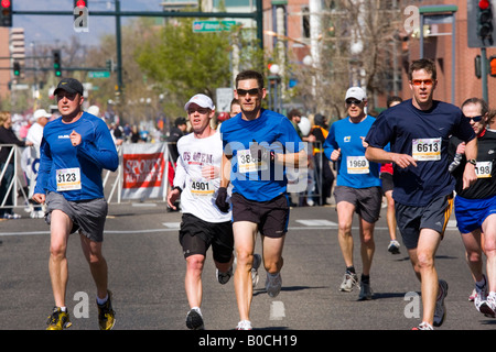 Fast Finishers in Denver Colorado - Stock Image