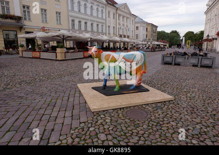 Tartu; Estonia 19th August; 2016. Today started campaign of Estonian Food Industry Association where is starring - Stock Image