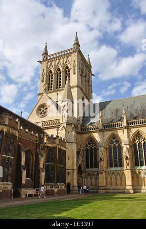 St John's College chapel, Cambridge, England, UK - Stock Image
