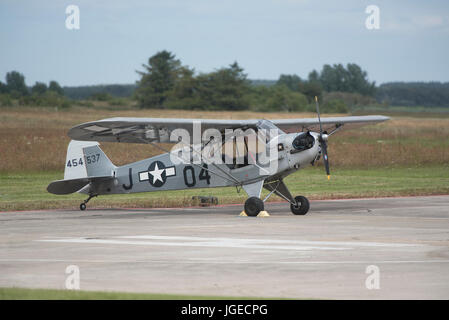 Based in North East Scotland this aircraft is occasionally used mainly for pastime flying at weekends out of Inverness - Stock Image