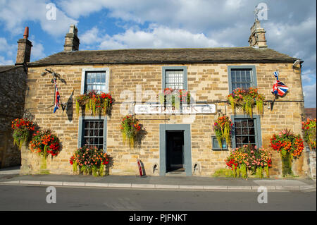 The Peacock Inn in Bakewell, Peak District National Park, Derbyshire - Stock Image