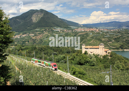 Castel Cles,Trentino. - Stock Image