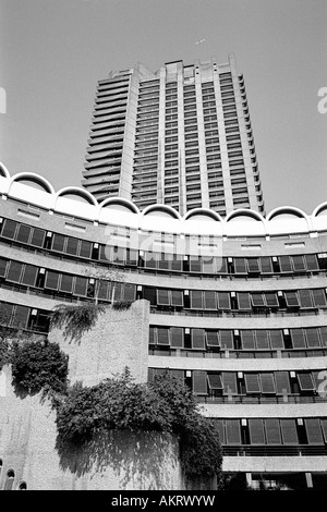 Residential flats Barbican London - Stock Image