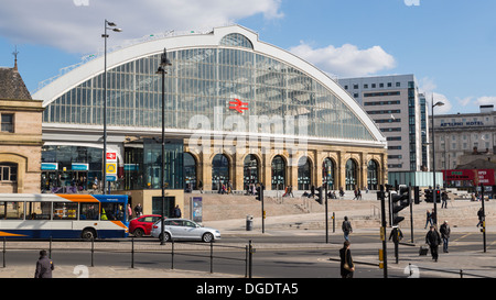 Liverpool Lime Street Railway Station - Stock Image