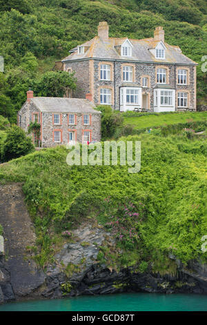 Doc Martins house - Stock Image