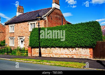 Hall Farm, Aldborough, North Yorkshire, England - Stock Image
