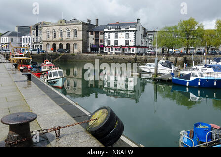 The Barbican Plymouth - Stock Image