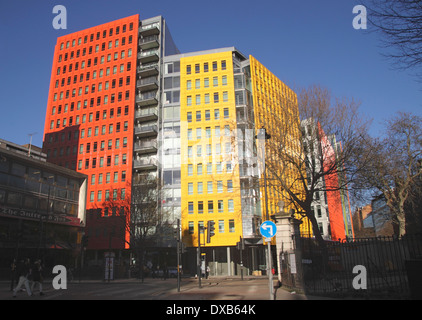 Central Saint Giles office and residential development London - Stock Image