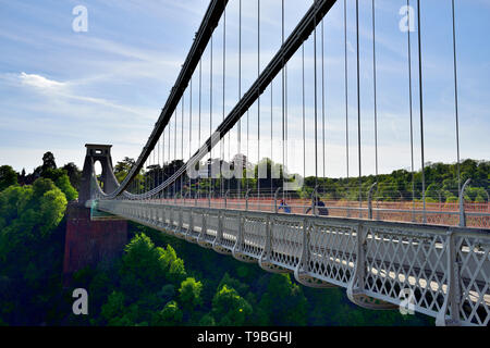 Bristol Clifton Suspension Bridge, England, UK - Stock Image