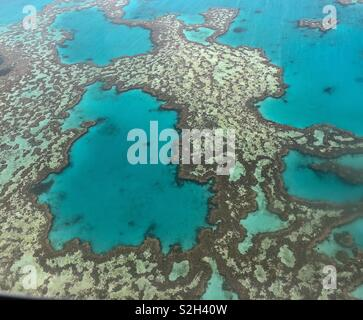 Great Barrier Reef, whitsundays - Stock Image
