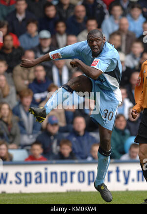 Footballer Shaun Goater Coventry City v Wolverhampton Wanderers at Highfield Road 16/4/05 - Stock Image