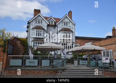 Arden Hotel, Waterside, Stratford upon Avon, Warwickshire - Stock Image