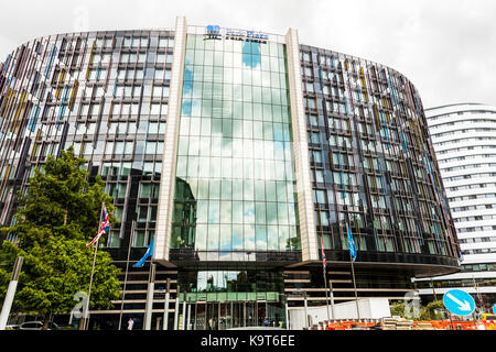 Park Plaza hotel London, Park Plaza London, Park Plaza Hotel, Westminster, South Bank, 200 Westminster Bridge Road, - Stock Image