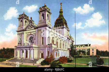 Minneapolis, Minnesota, USA - Basilica of St Mary - Stock Image