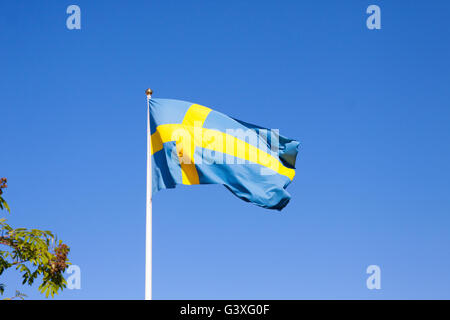 Sweden flag - Stock Image