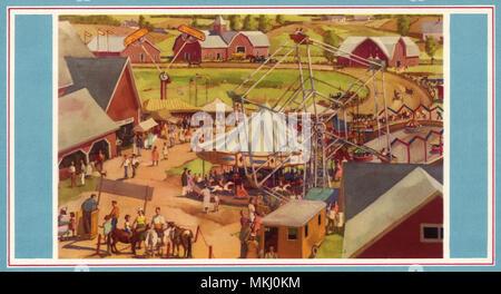 Fair in Farmland - Stock Image