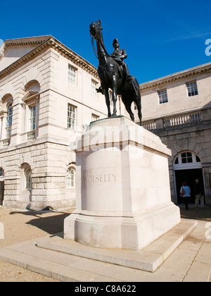 Household Cavalry Museum Horse Guards Parade Whitehall London - Stock Image