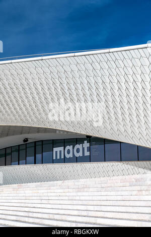Museum of Art, Architecture and Technology (MAAT), Belem, Lisbon, Portugal - Stock Image