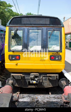 Commuter Trains Uk Diesel - Stock Image