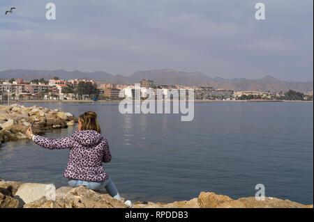 Puerto de Mazarron, Murcia, Costa Calida, Spain - Stock Image
