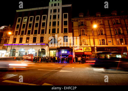The outside of venue at Pacha London 4th April 2010. - Stock Image