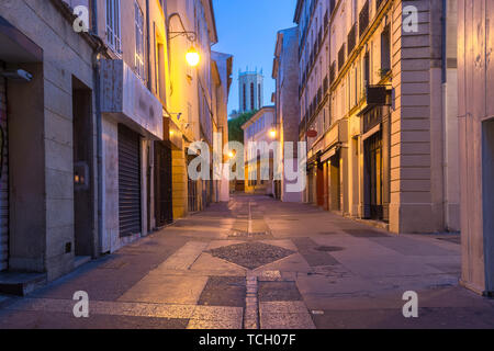 Aix Cathedral in Aix-en-Provence, France - Stock Image
