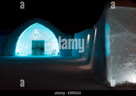 Icehotel - Stock Image