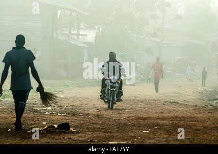 Ganta, Liberia. - Stock Image