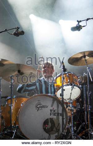 TRIGGERFINGER performing live, 13 july 2015 - Stock Image