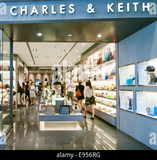 Charles and Keith in Thailand - Stock Image