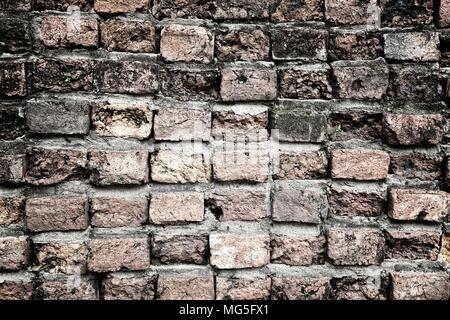 Old Brick Wall Texture Background. - Stock Image