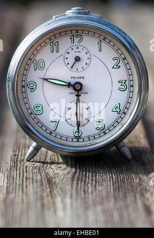 Vintage Alarm Clock - Stock Image