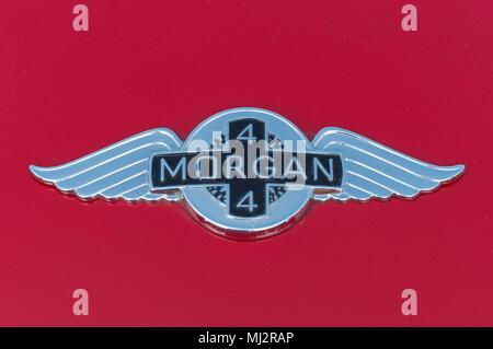 Morgan 4/4 Sports Car - Stock Image