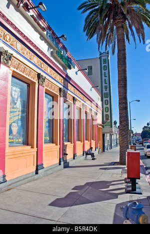 Ripley's Believe it or Not Odditorium Hollywood Los Angeles CA improbable bizarre events stories Museum Building - Stock Image
