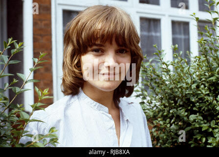 Geraldine 'Gerry' Cowper (1958-) - English actress who is best known for playing Rowan Morrison in the 1973 British Lion classic horror film, The Wicker Man and later as Rosie Miller in EastEnders. Shown here in on of the joint lead roles in the Granada TV series 'Two People' in 1979. - Stock Image