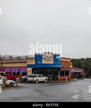 HICKORY, NC, USA-1/3/19: - Stock Image