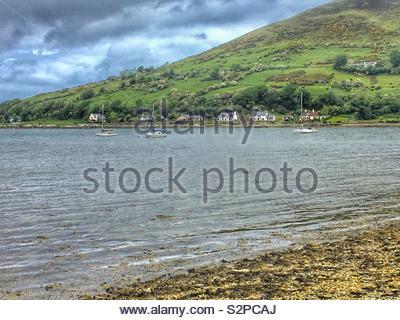 Lochranza, Arran, Scotland - Stock Image