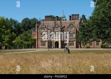 Heydon Hall, Heydon, Norfolk, UK. - Stock Image
