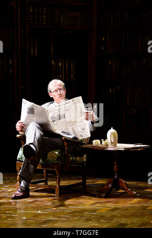 Andrew Havill playing Warnie in Shadowlands a play written by William Nicholson at Chichester Festival Theatre, West Sussex, UK. - Stock Image