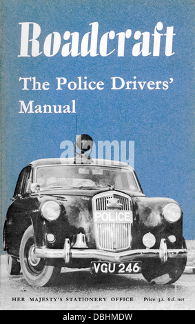 Roadcraft, The Police Drivers' Manual HMSO 1960 - Stock Image